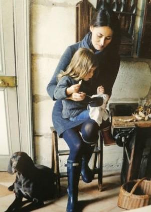 Mimi Thorisson Hunter boots