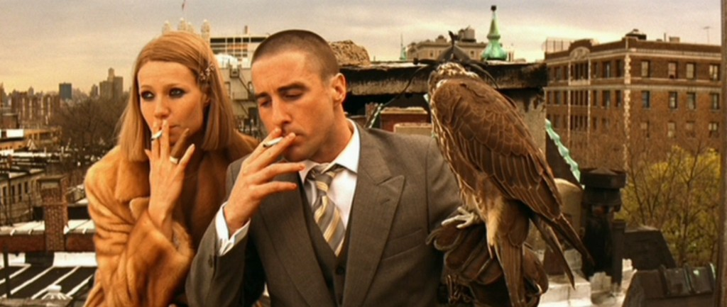 Costume and character in The Royal Tenenbaums