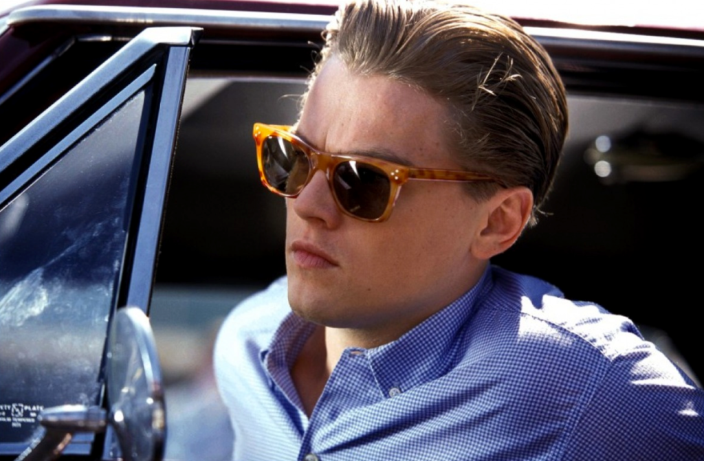 Best sunglasses in the history of cinema Leonardo DiCaprio in Catch Me If You Can