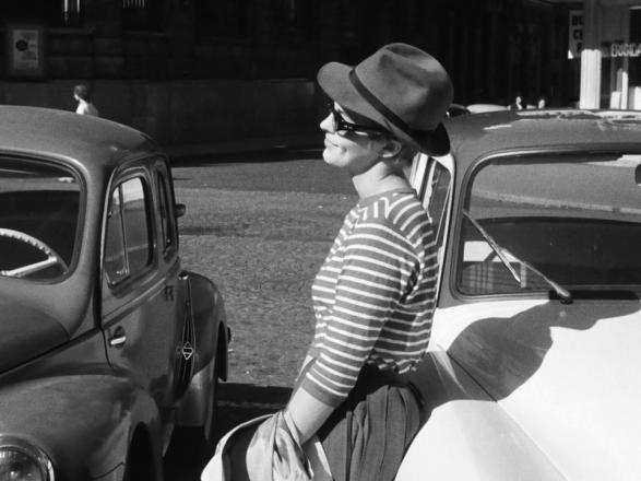 Best sunglasses in film Jean Seberg in breathless