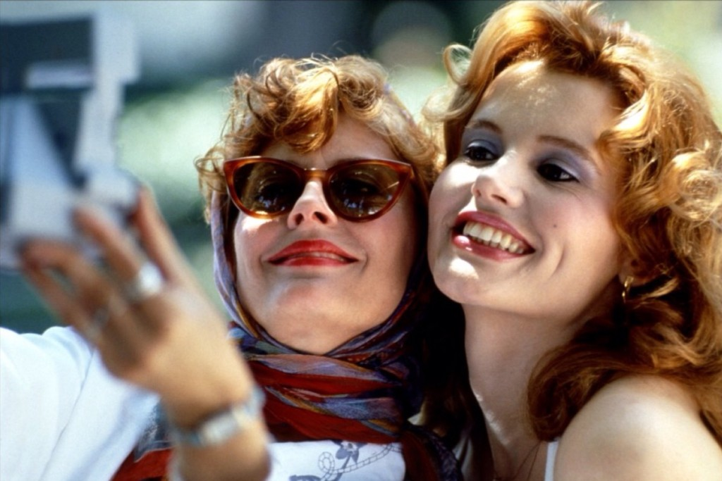 Best sunglasses in film - Thelma and Louise