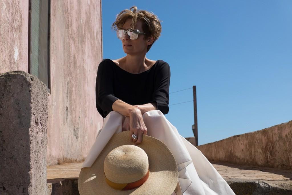 Best sunglasses in film - Tilda Swinton in A Bigger Splash