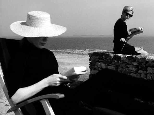Best sunglasses in the history of cinema-Bibi Andersson in persona