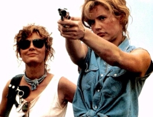Best sunglasses in film Thelma and Louise