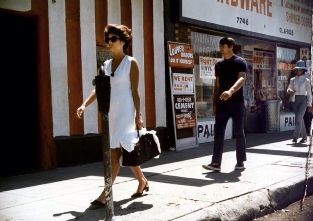 Best sunglasses in film  Anouk Aimee in model shop