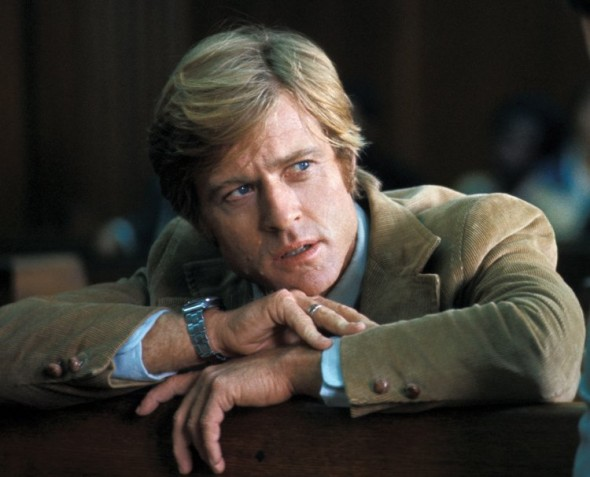 The preppy look of Rovert Redford All the President's Men