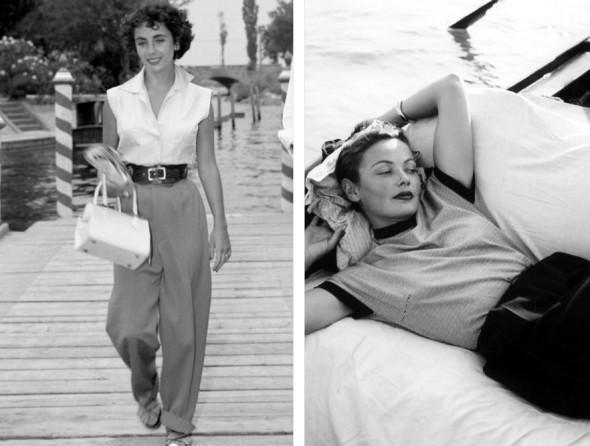 Venice film festival Elizabeth Taylor Gene Tierney