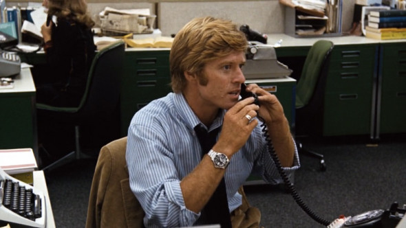 The preppy look of Robert Redford all the president's men