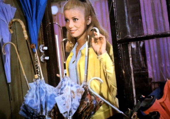 Costume and Colour The Umbrellas of Cherbourg