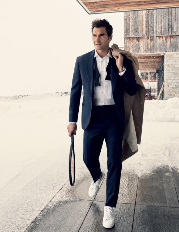 A sporting life Roger Federer