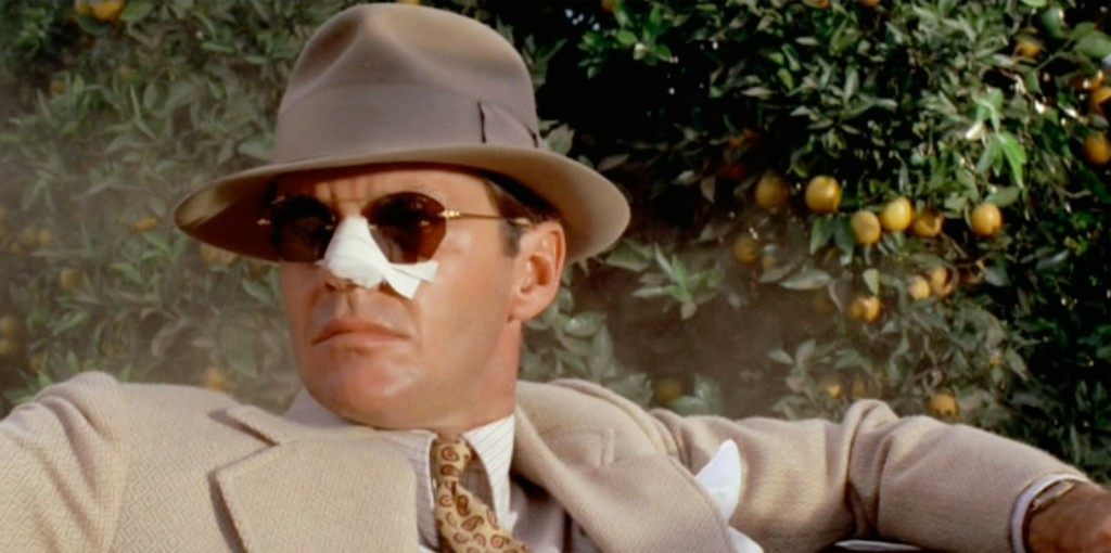 Los Angeles as seen in movies Chinatown 1974