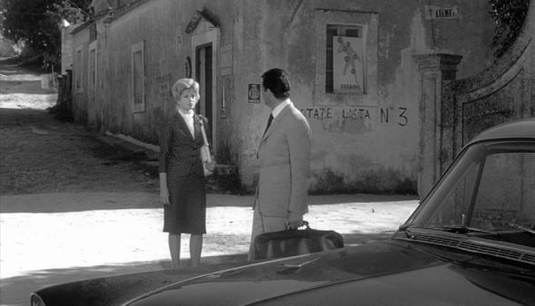 Monica Vitti and Fashion in Antonioni's Films L'Avventura