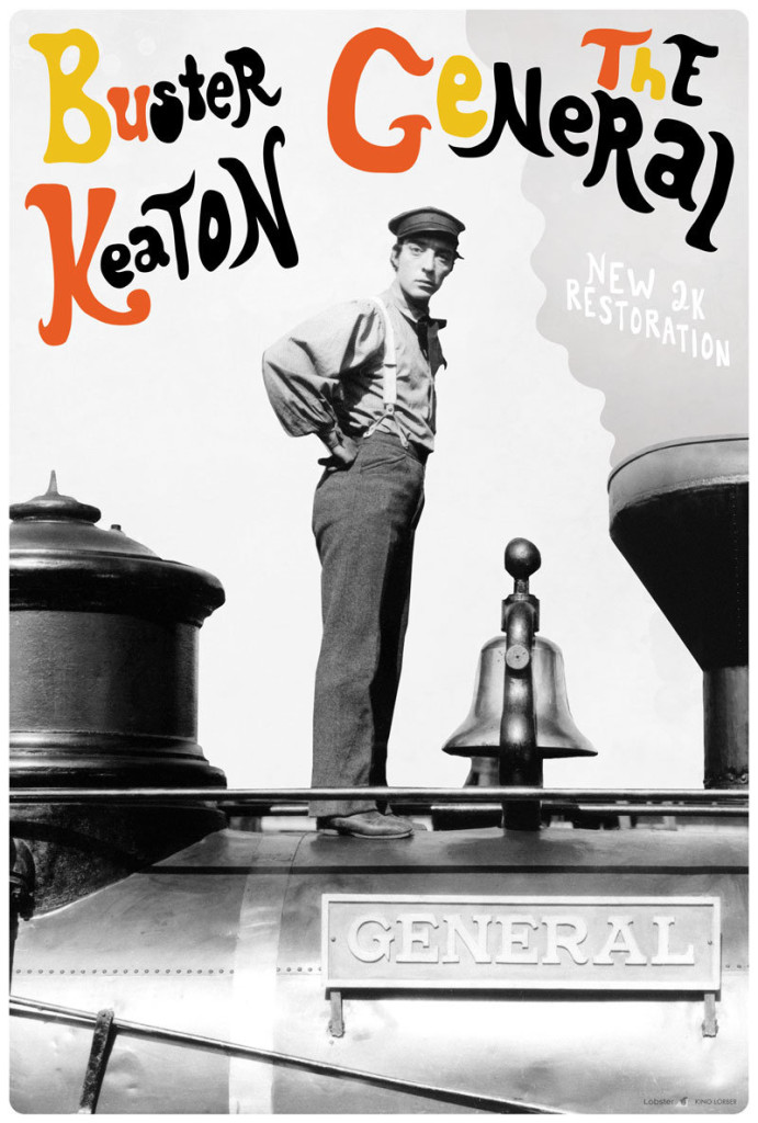 Buster Keaton film poster Dylan Haley