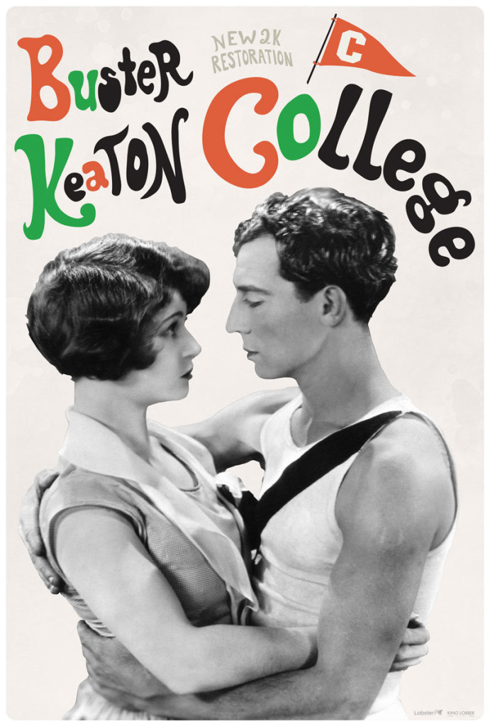 Buster Keaton College poster Dylan Haley