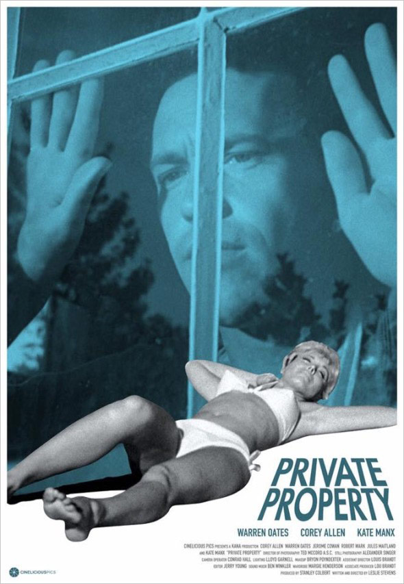 Private property film poster by Dylan Haley