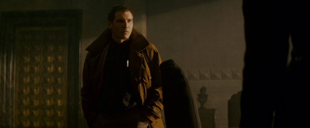 Blade Runner trench Harrison Ford
