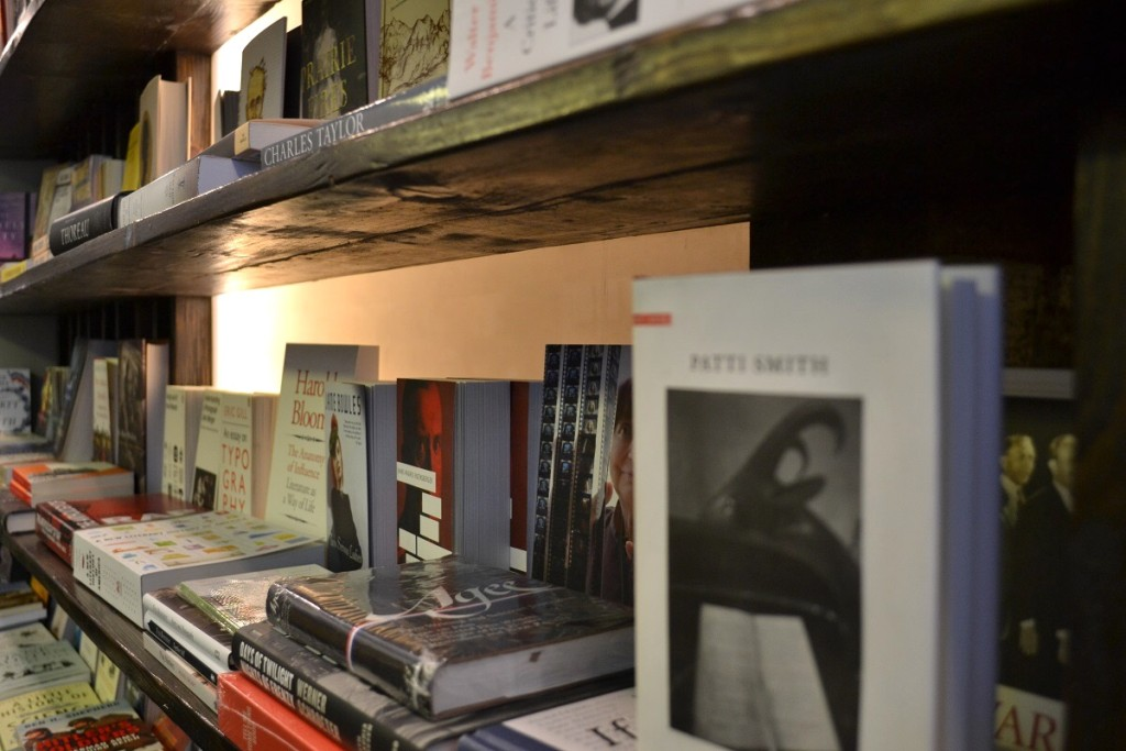 Talking books and the art of bookshop keeping