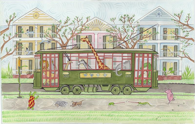 Alex Beard The Uptown Streetcar