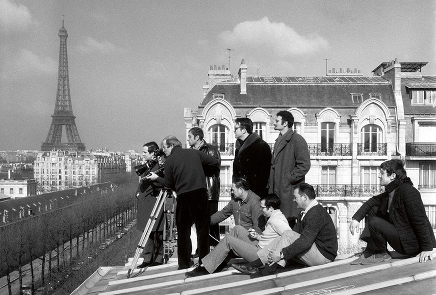 François Truffaut by Raymond Cauchetier