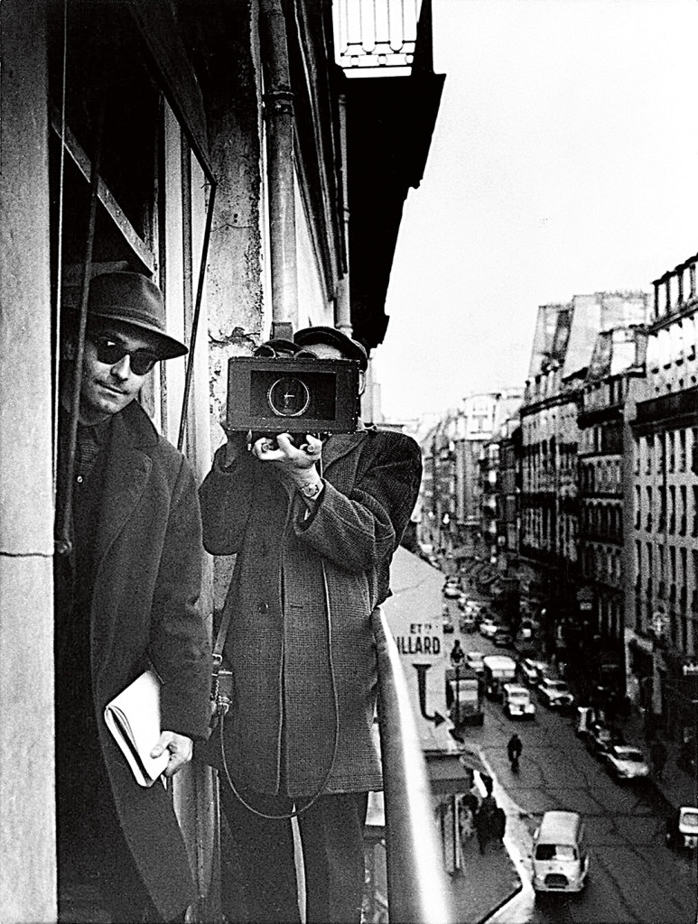 Jean Luc Godard by Raymond Cauchetier