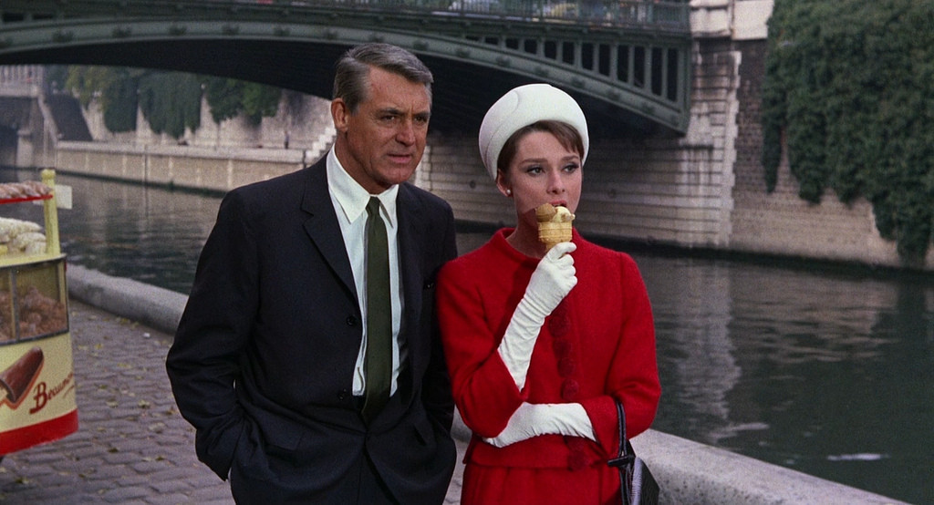 Audrey Hepburn Cary Grant Charade