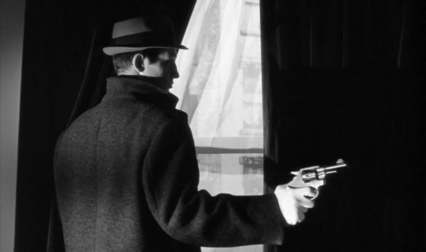 Jean Paul Belmondo in Le doulos