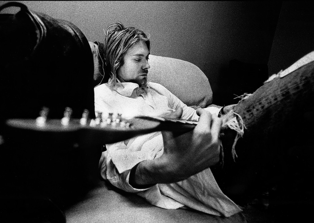 Kurt Cobain by Charles Peterson