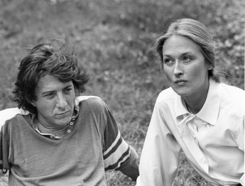 Meryl Streep and Dustin Hoffman in Kramer vs Kramer