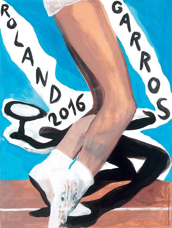 Roland Garros poster 2016