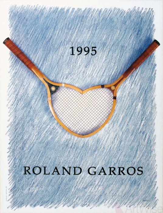 Roland Garros poster 1995
