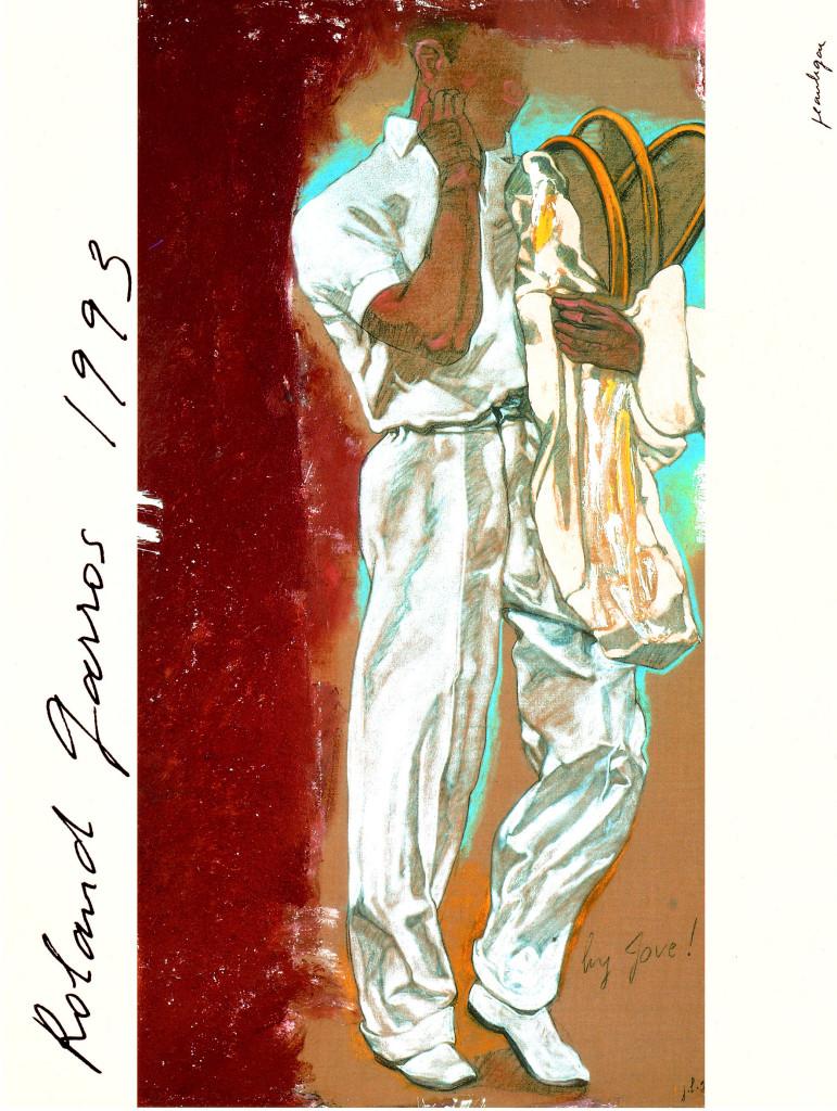 Roland Garros poster 1993