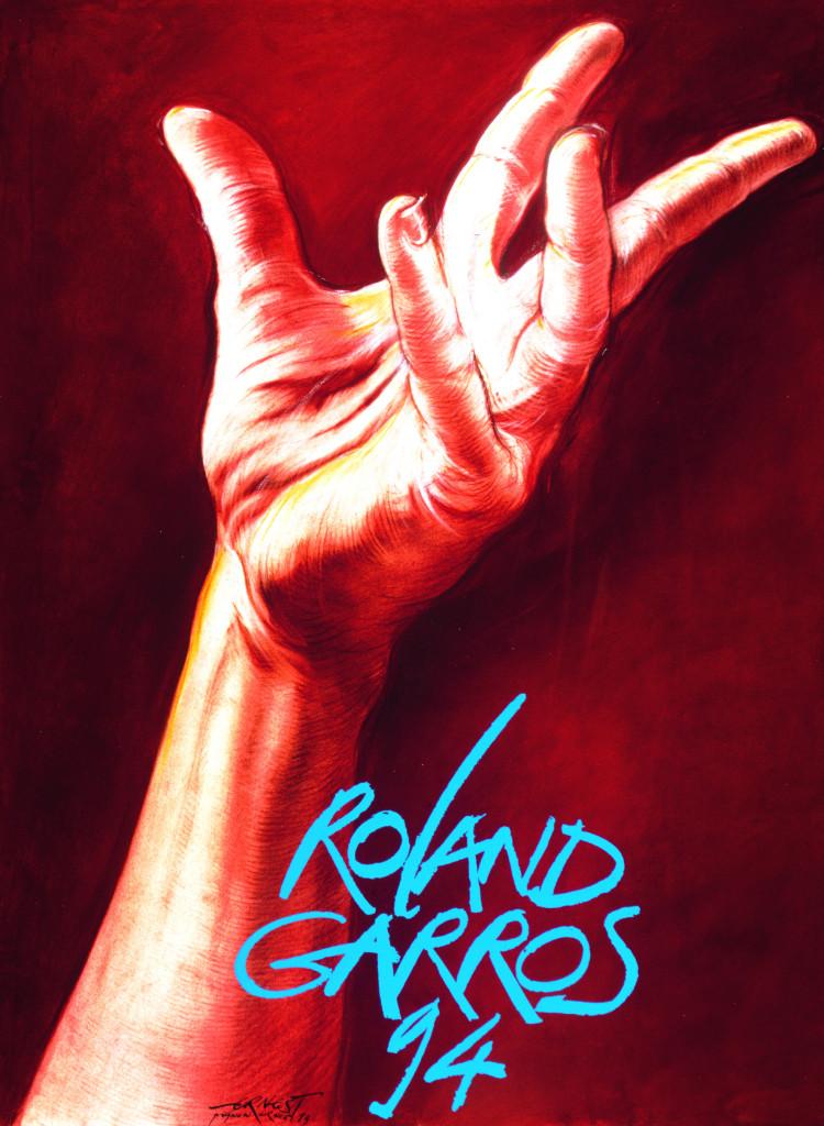 Roland Garros 1994 poster