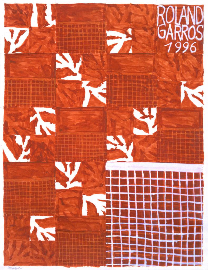Roland Garros 1996 poster