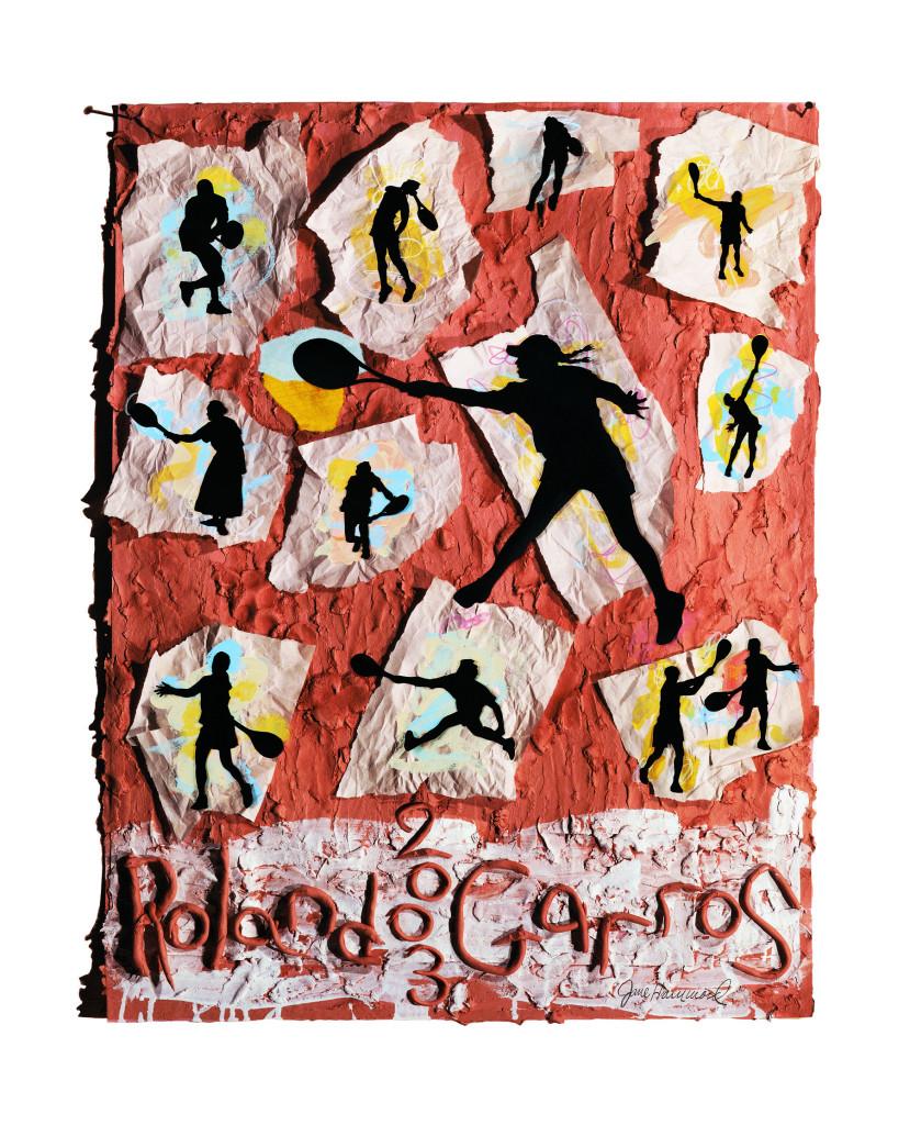 Roland Garros poster 2003