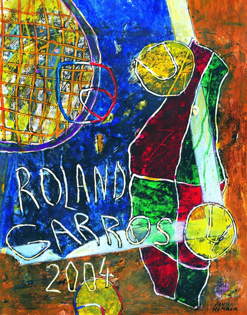 Roland Garros poster 2004