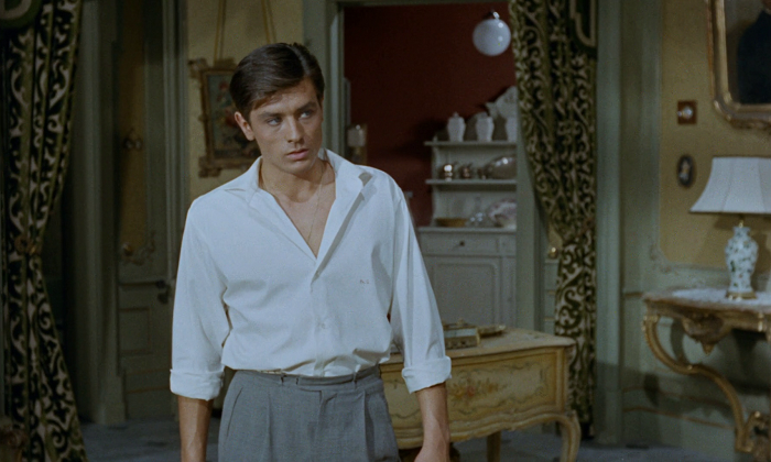 Summer style in movies - Alain Delon in Plein soleil