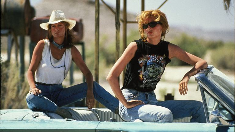 Summer style in movies - Thelma and Louise