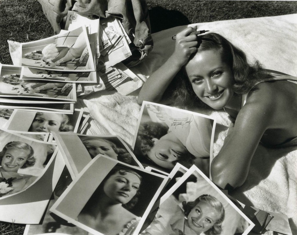 Editorial - A Star Is Born - Joan Crawford by Clarence Sinclair Bull