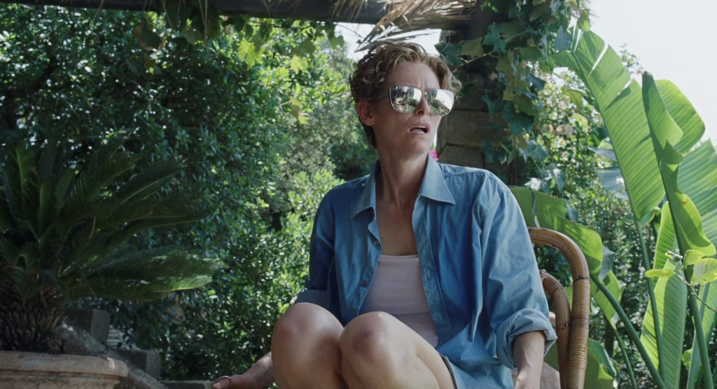 Shirt Stories - Tilda Swinton in A Bigger Splash