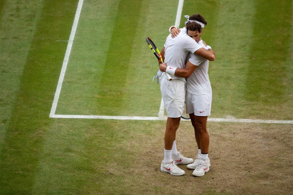 Sportsmanship and class-Rafael Nadal and Juan Martin del Potro