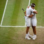Sportsmanship and class-Rafael Nadal and Juan Martin del Potro