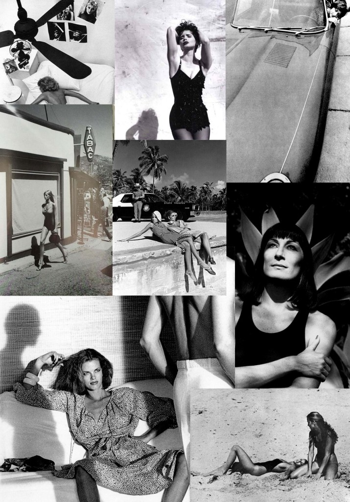 Summer Storyboard by Helmut Newton
