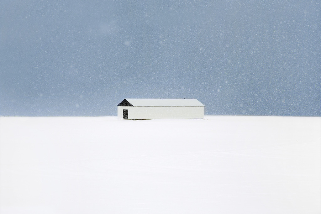 The farmhouse - Snjór - Christophe Jacrot