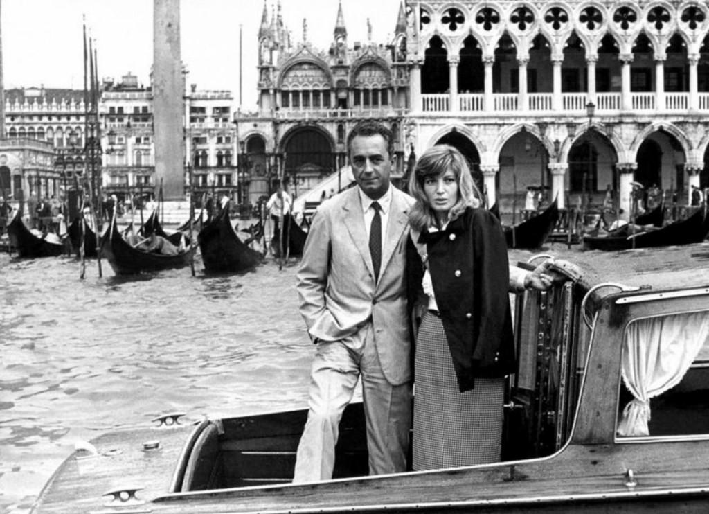 Michelangelo Antonioni Monica Vitti Venice Film Festival