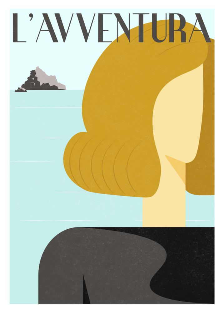 L'Avventura film poster - Classiq Shop