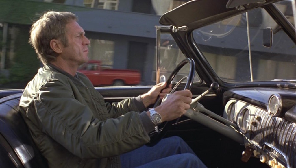 Steve McQueen in The Hunter 1980 - best windbreakers in film