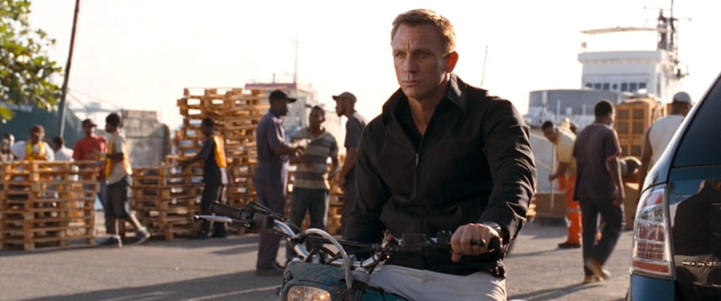 Daniel Craig in Quantum of Solace - Best windbreakers in film