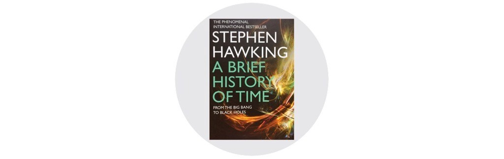 Autumn reading list - A Brief History of Time - Stephen Hawking